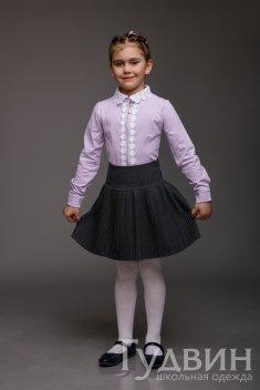 """Блузка """"Фиалка"""" короткий и длинный рукав"""