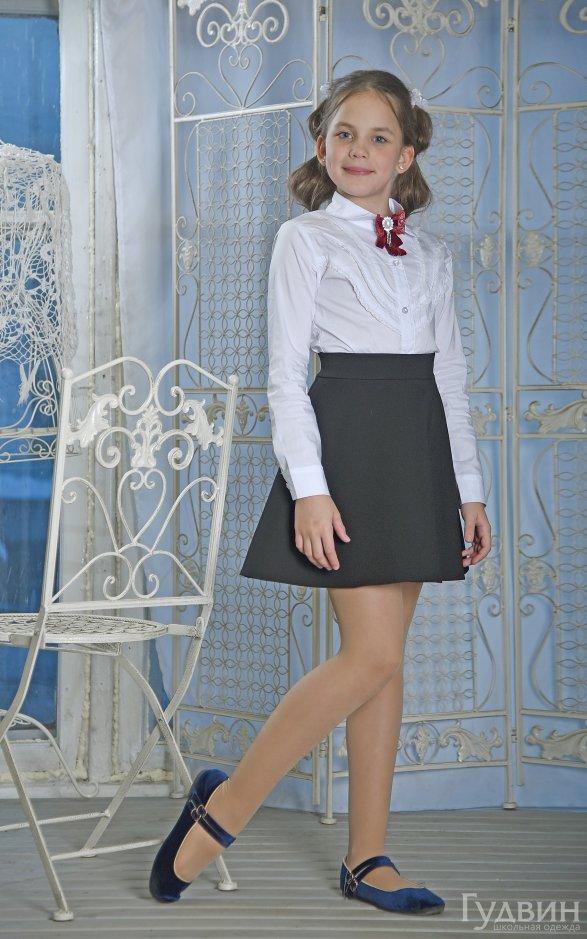 юбка 112 полусолнце чёрная