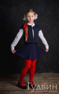Балеро для девочки синий, серый, бордо, чёрный